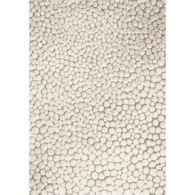 Kara Cream/Beige Area Rug Rug Size: 710 x 1010