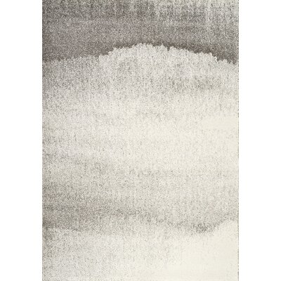 Kara Cream/Gray Area Rug Rug Size: Rectangle 5'3