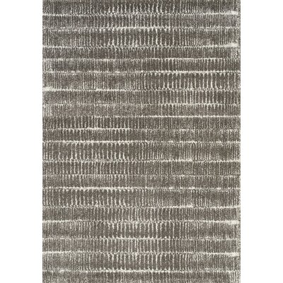 Kara Gray/White Area Rug Rug Size: Rectangle 710 x 1010