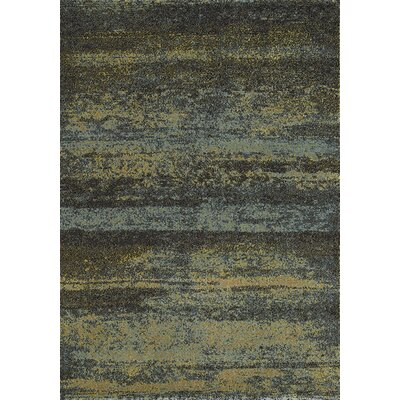 Greve Green/Gray Area Rug Rug Size: 53 x 77