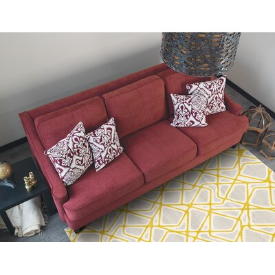 Greve Yellow Area Rug
