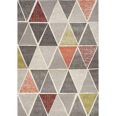 Greve Gray/Black Area Rug Rug Size: 710 x 1010