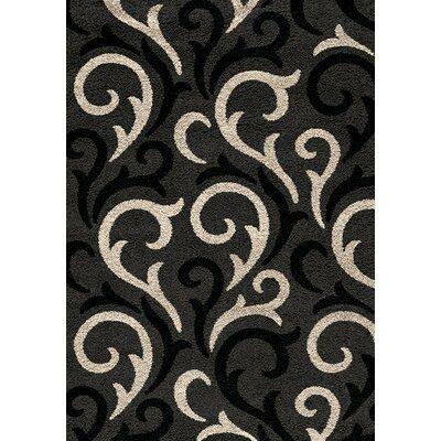 Lorene Charcoal/Beige Area Rug Rug Size: 710 x 106