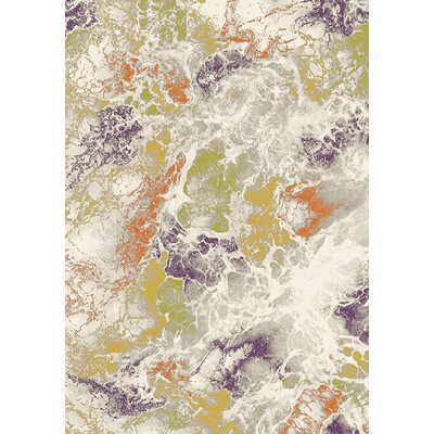 Caster Gray/Green Area Rug Rug Size: 710 x 106