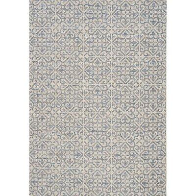Brindley Gray Area Rug Rug Size: 710 x 1010