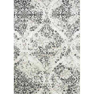 Pointer White Area Rug Rug Size: 710 x 106