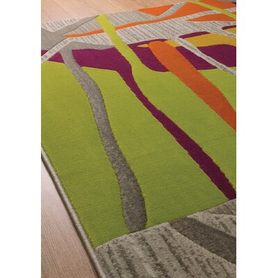 Caster Abstract Texture Area Rug Rug Size: 5'3