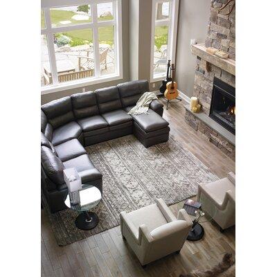 Kelsi Cozy Grey Area Rug Rug Size: 53 x 77