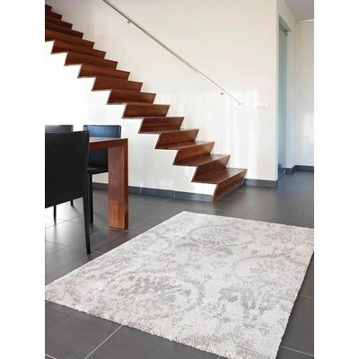 Bridgett Beige Subtle Ornaments Area Rug Rug Size: 710 x 1010