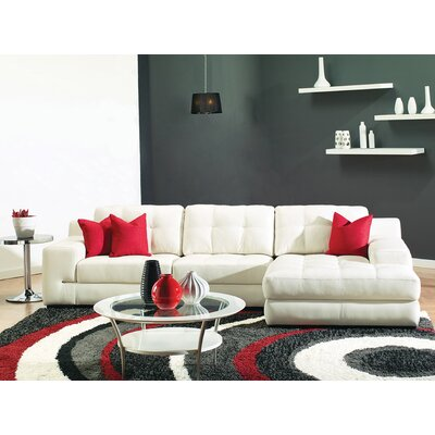 Retzlaff Red/Charcoal Area Rug Rug Size: 710 x 106