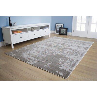 Aminata Gray Area Rug Rug Size: 710 x 106