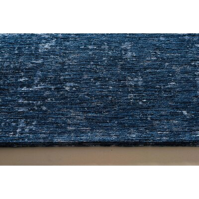Oakfield Deep Blue Area Rug Rug Size: 76 x 1010