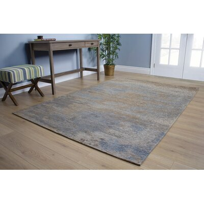 Emory Stormy Weather Blue/Brown Area Rug Rug Size: 51 x 77