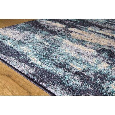 Basnight Sky Blue Area Rug Rug Size: 710 x 106