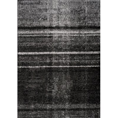 Daphne Distortion Gray Area Rug Rug Size: 710 x 106