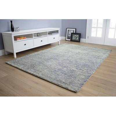 Christiana Tight Loop Gray Area Rug Rug Size: 53 x 77