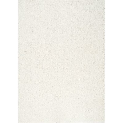 Bathford Cream Area Rug Rug Size: 53 x 77