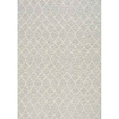 Kaela Neutral Waves Outdoor Gray Area Rug Rug Size: 710 x 1010