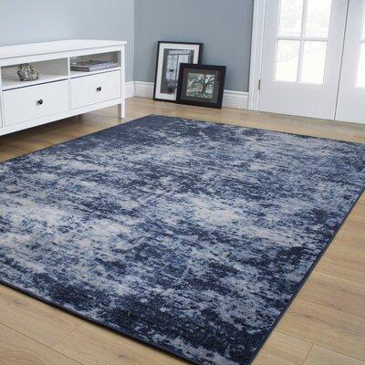 Coletta Haze Blue Area Rug Rug Size: 67 x 910