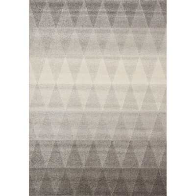 Woodmansee Diamonds Gray Area Rug Rug Size: Rectangle 710 x 1010