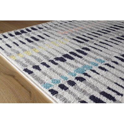 Lola Pastel Magic Gray/Blue Area Rug