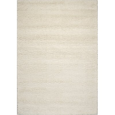 Barry Luxurious Beige Area Rug Rug Size: 53 x 77
