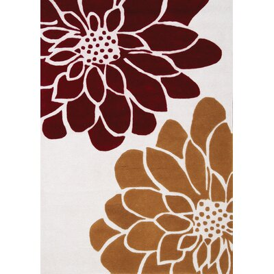 Lymon Spring Bloom Area Rug Rug Size: 53 x 77