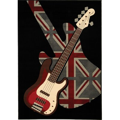 Chong Rock and Roll Rug Rug Size: 53 x 77