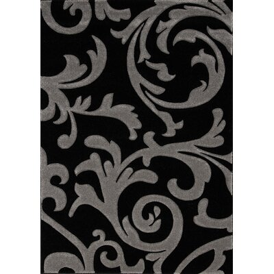 Lowville Dark Vines Transitional Area Rug Rug Size: 710 x 106