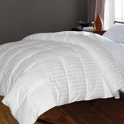 350 Thread Count All Season Down Comforter Size: King