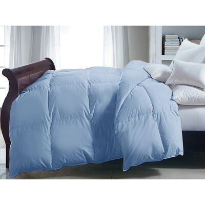 Polyester Down Alternative Comforter Size: Full/Queen, Color: Blue