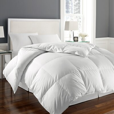 All Season Down Alternative Polyester Comforter Size: King