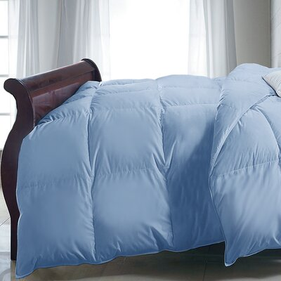 Down Alternative Comforter Size: Twin, Color: Blue