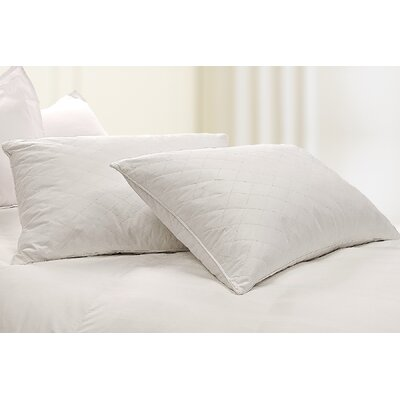 Blue Ridge Home Fashion, Inc. 233 Thread Count Diamond Quilted Feather Jumbo Pillow (Set of 2) at Sears.com