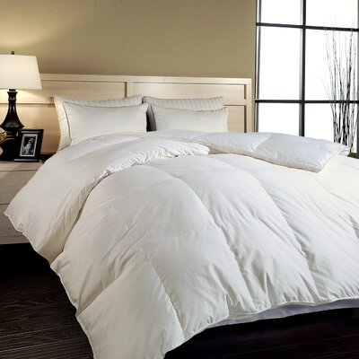 700 Thread Count All Season Down Comforter Size: Full / Queen