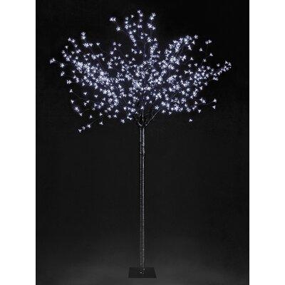 Hometime Snowtime 400 LED Light Blossom Tree - Color: White