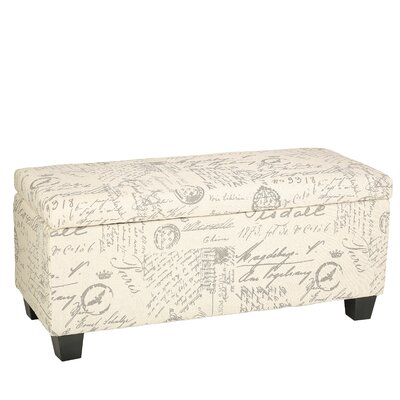 Fabric Storage Bedroom Bench