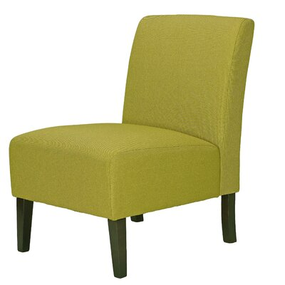 Rickey Citron Slipper Chair