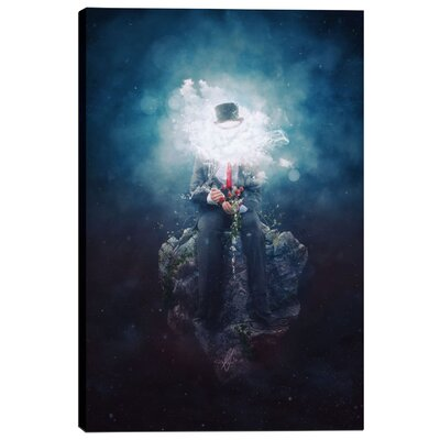 "Patience By Mario Sanchez Nevado Graphic Art On Wrapped Canvas Size: 60"" H X 40"" W"