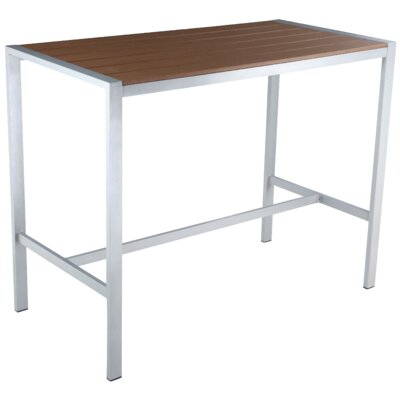 Lola Bar Table Finish: Silver