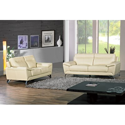 Riche Sofa Upholstery: Cream