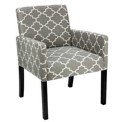 Tegan Accent Armchair Upholstery: Gray