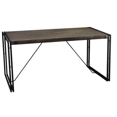 Fayyaz Wood Top Dining Table