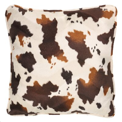 Mendell Zebroid 100% Cotton Throw Pillow