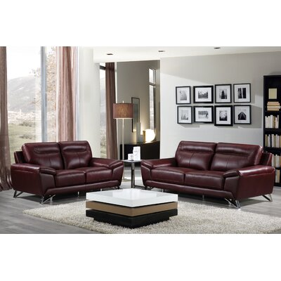 Riche Leather Living Room Set