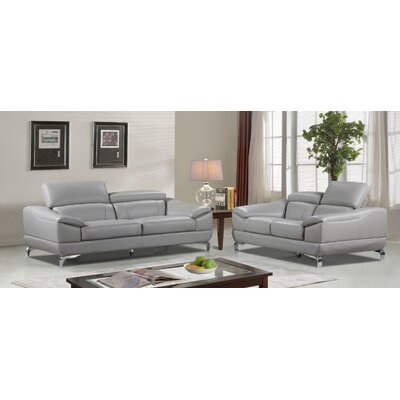 Richert Leather Living Room Set