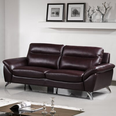 Richman Leather Loveseat