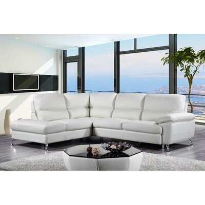 Richeson Leather Sectional