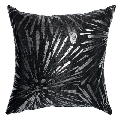 Sunburst Accent Throw Pillow