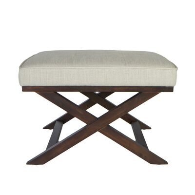 Ari X Bench Ottoman Upholstery: Beige